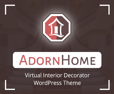 AdornHome - Virtual Interior Decorators WordPress Theme
