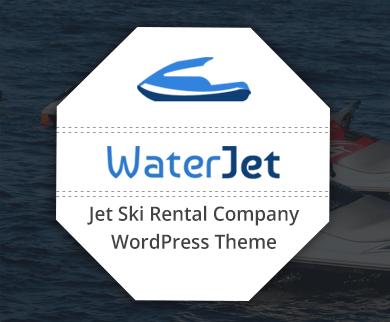 WaterJet - Jet Ski Rental Company WordPress Theme