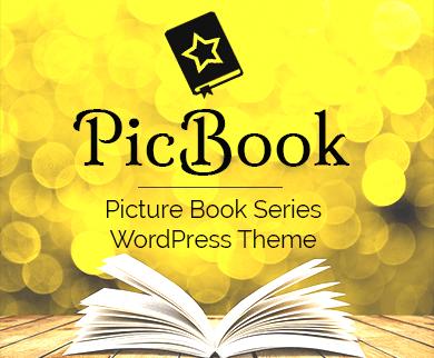 PicBook - Picture Book Series WordPress Theme