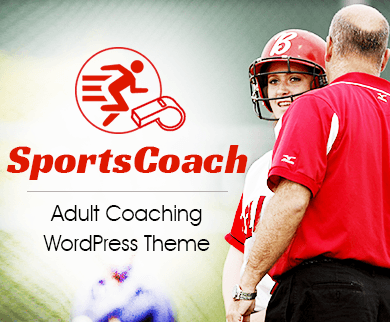 SportsCoach - Adult Coaching WordPress Theme