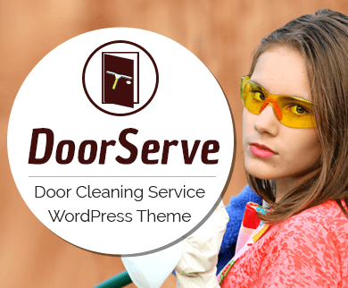 DoorServe - Door Cleaning Service WordPress Theme