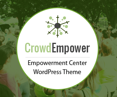 CrowdEmpower - Empowerment Center WordPress Theme