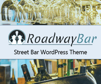 RoadwayBar - Street Bar Restaurant WordPress Theme
