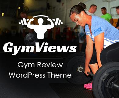 GymViews - Gym Review WordPress Theme