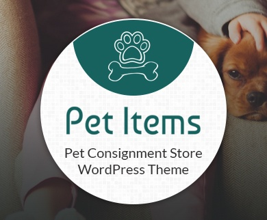 Pet Items - Pet Consignment Store WordPress Theme & Template
