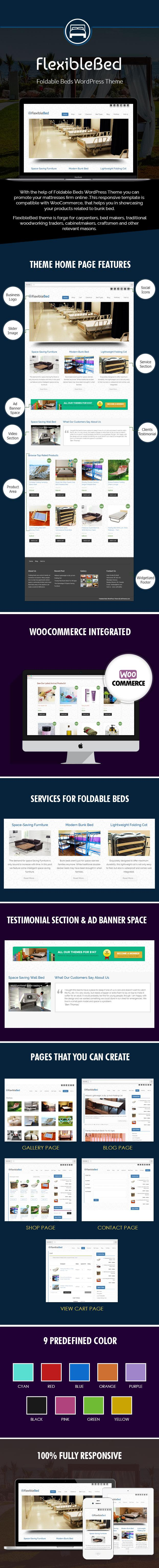 Foldable Beds WordPress Theme