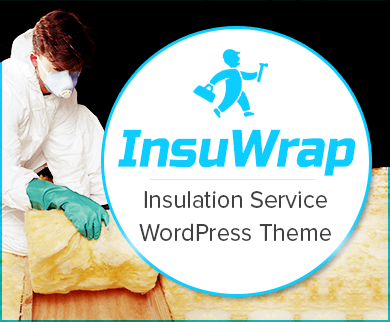 Insu Wrap - Insulation Service WordPress Theme & Template
