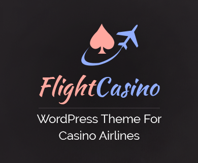 FlightCasino - Casino Airlines WordPress Theme & Template
