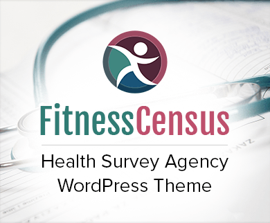 Fitness Census - Health Survey Agency WordPress Theme & Template