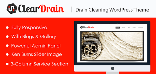Drain Cleaning WordPress Theme