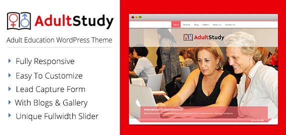 Adult Education WordPress Theme & Template