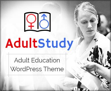 Adult Study - Adult Education WordPress Theme & Template