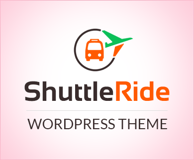 Shuttle Ride - Airport Pick Up And Drop Off Service WordPress Theme & Template