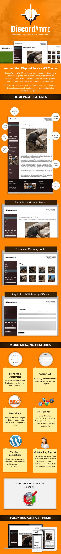 Ammunition Disposal Service WordPress Theme
