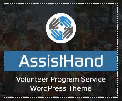 AssistHand - Volunteer Program Service WordPress Theme & Template