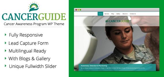 Cancer Awareness Program WordPress Theme