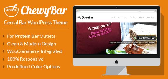 [ChewyBar] Cereal Bar Restaurant WordPress Theme