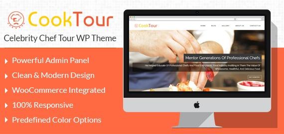 Celebrity Chef Tour WordPress Theme