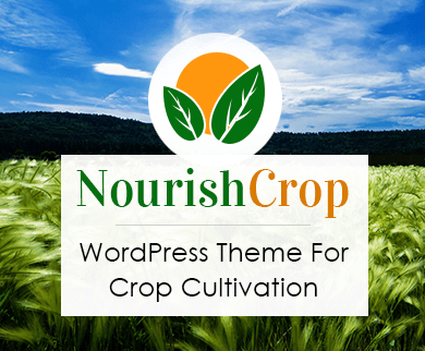 Nourish Crop - Crop Cultivation WordPress Theme & Template