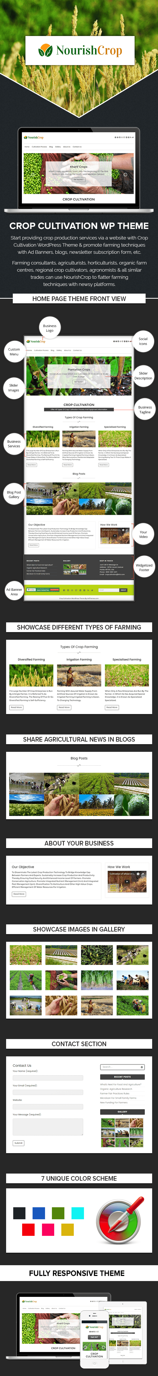 Crop Cultivation WordPress Theme