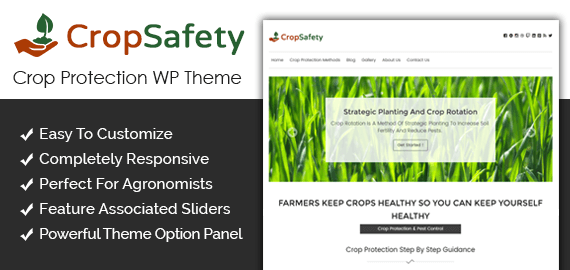 Crop Protection WordPress Theme