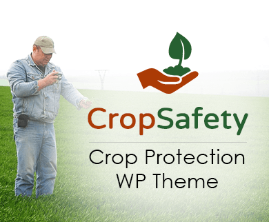 Crop Safety - Crop Protection WordPress Theme & Template