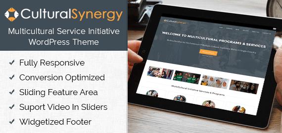 Multicultural Service Initiative WordPress Theme