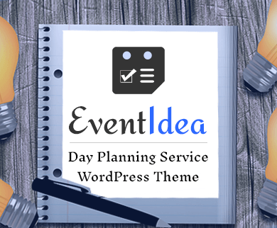 Event Idea - Day Planning Service WordPress & Template