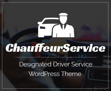Chauffeur Service - Designated Driver Service WordPress Theme & Template