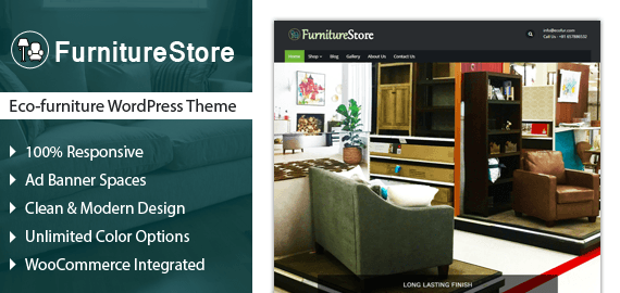Eco-Furniture WordPress Theme