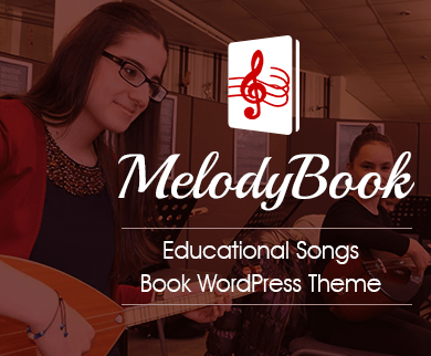 MelodyBook - Educational Songs Book Wordpress Theme & Template