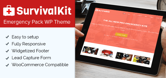 Emergency Pack WordPress Theme