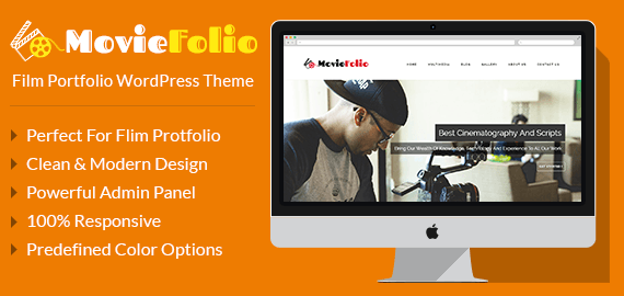 Film Portfolio WordPress Theme