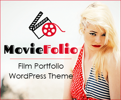 Movie Folio - Film Portfolio WordPress Theme & Tempate