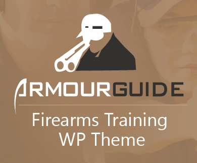 ArmourGuide - Firearms Training WordPress Theme & Template