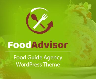 Food Advisor - Food Guide Agency WordPress Theme & Template
