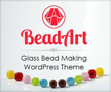 Bead Art - Glass Bead Making WordPress Theme & Template