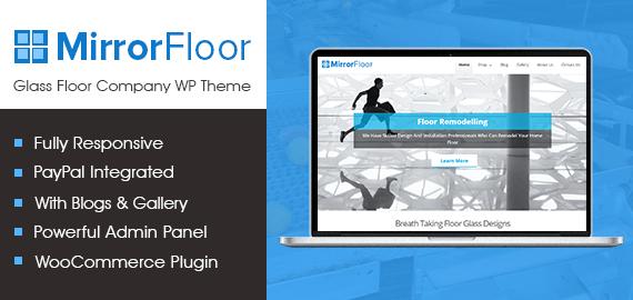 Glass Floor Company WordPress Theme
