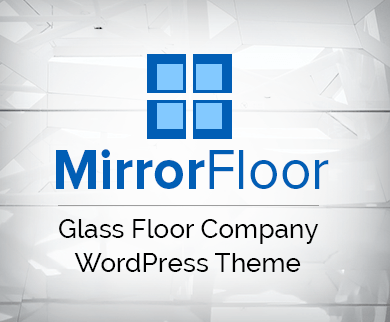 Mirror Floor - Glass Floor Company WordPress Theme & Template