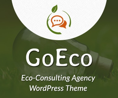 Go Eco - Eco-Consulting Agency WordPress Theme & Template