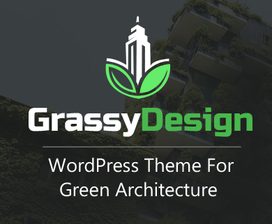 Grassy Design - Green Architecture WordPress Theme & Template