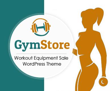 Gym Store - Workout Equipment Sale WordPress Theme & Template