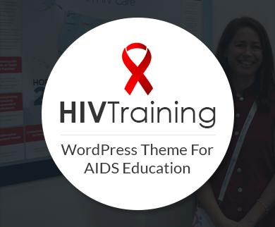 HIV Training - AIDS & HIV Education WordPress Theme & Template