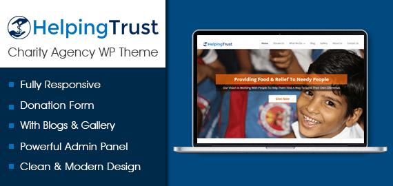 Charity Agency WordPress Theme