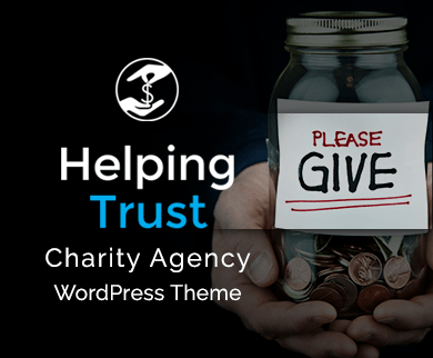 Helping Trust - Charity Agency WordPress Theme & Template