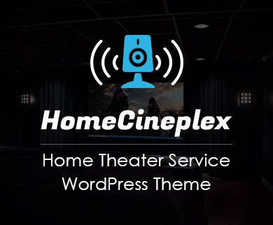 Home Cineplex - Home Theater Service Wordpress Theme & Template