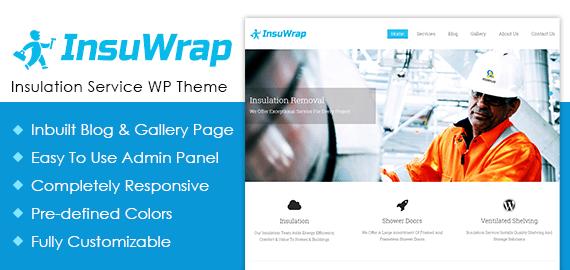 Insulation Service WordPress Theme