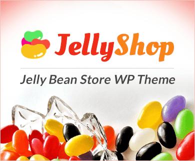 Jelly Shop - Jelly Bean Store WordPress Theme & Template
