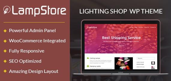 Lighting Shop WordPress Theme
