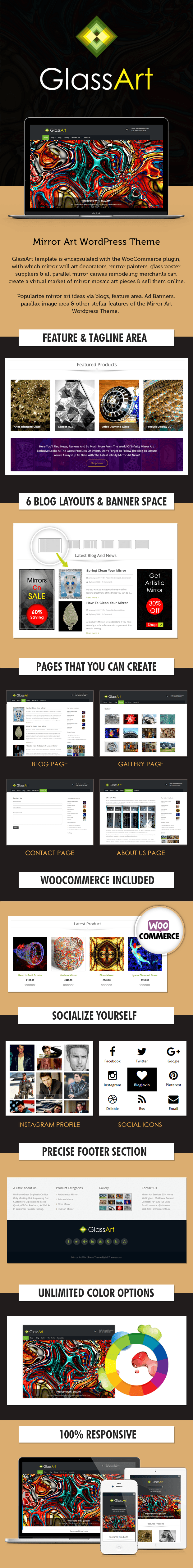 Mirror Art WordPress Theme